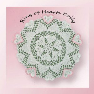 Ring of Hearts Doily
