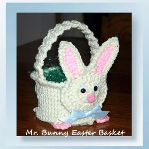 Mr. Bunny Easter Basket