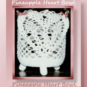 Pineapple Heart Bowl