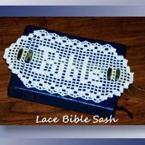 Lace Bible Sash