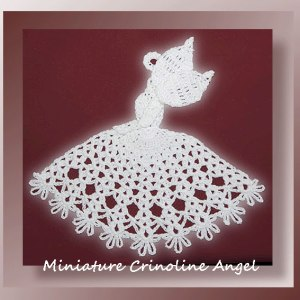 Miniature Crinoline Angel