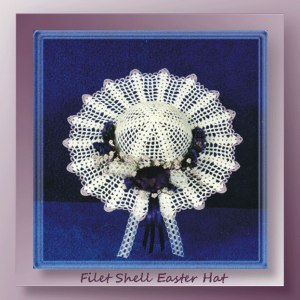 Filet Shell Easter Hat