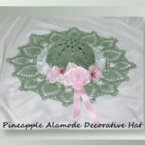 Pineapple Alamode Decorative Hat