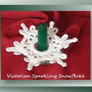 Victorian Sparkling Snowflake