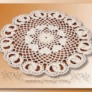 Wedding Rings Doily