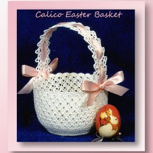Calico Easter Basket