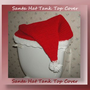 Santa Hat Tank Top Cover