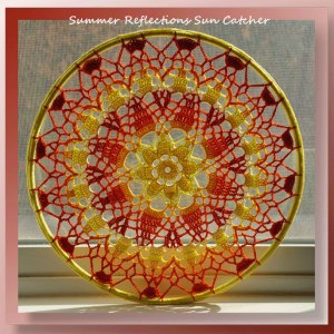 Summer Reflections Sun Catcher