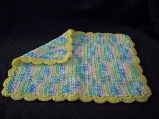 Crochet Patterns Galore Doll Blanket