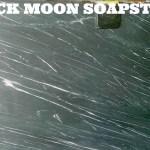 BLACK MOON (FLAT BLACK,WHITE VEINS)