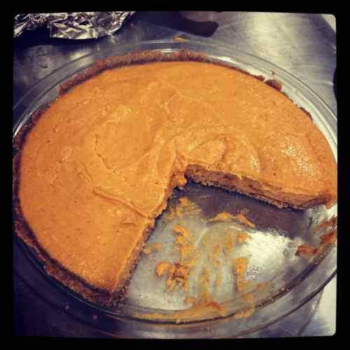 Medium Of Pumpkin Chiffon Pie