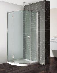 Design Quadrant Single Door Shower Enclosure in Frameless ...