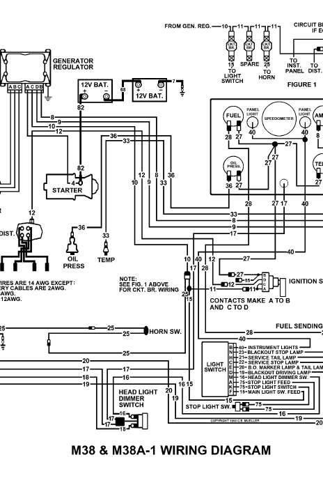 willys ignition wiring diagram