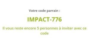 1001pact code parrainage