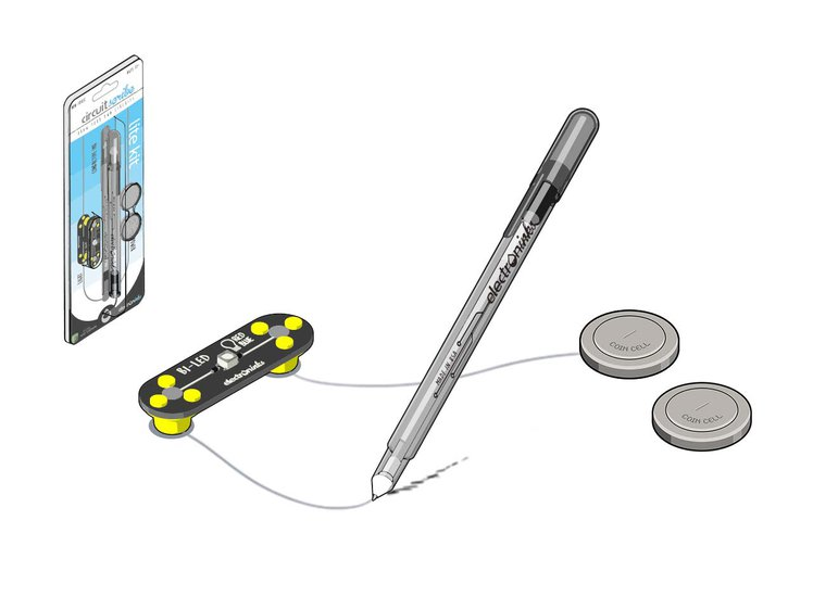 circuit scribe conductive ink pen draw circuits instantly