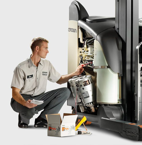 Forklift Repair Services and Parts Crown Equipment