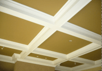 Coffered Ceiling | Crown & Trim By Design