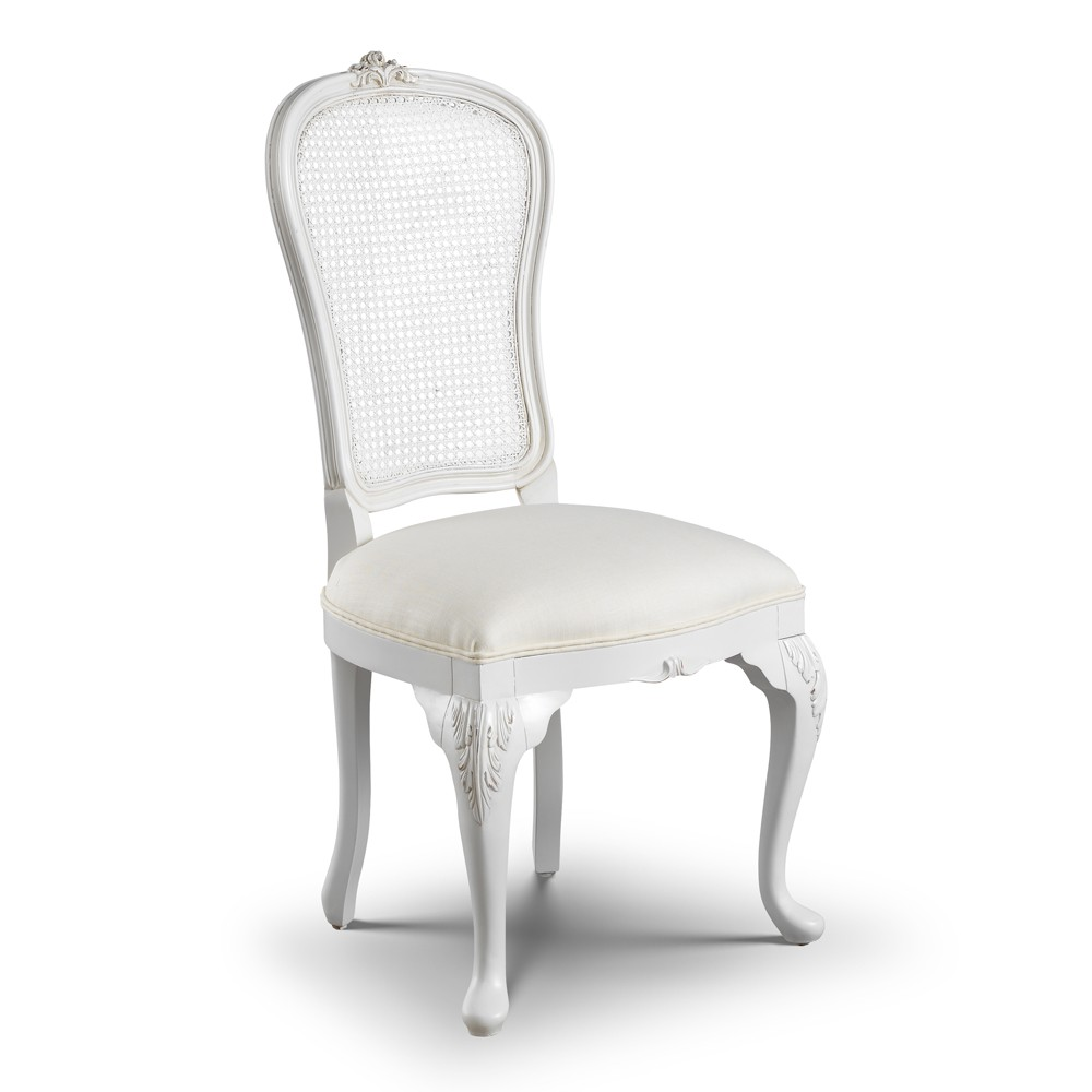 Beaulieu Rattan Back French Dining Chair French Chairs