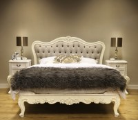 Sophia Button Upholstered French Bed | French Bedroom ...