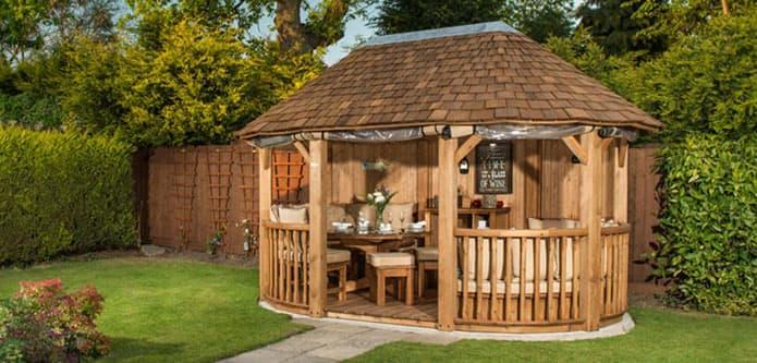 Luxury Garden Gazebos