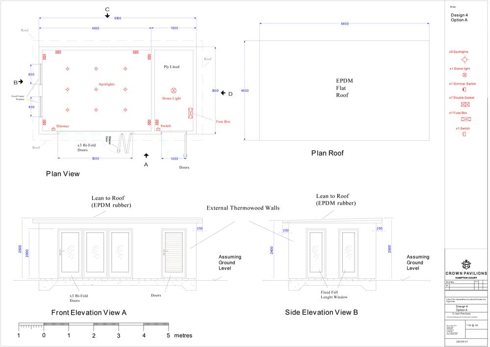 fuse box wood doors