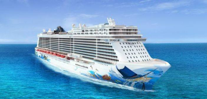 Norwegian Escape Homeport & Hull Art Revealed