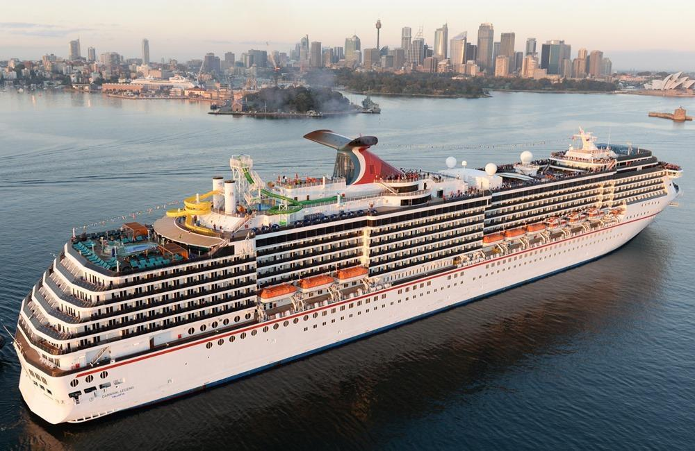 Carnival Legend Itinerary Schedule Current Position