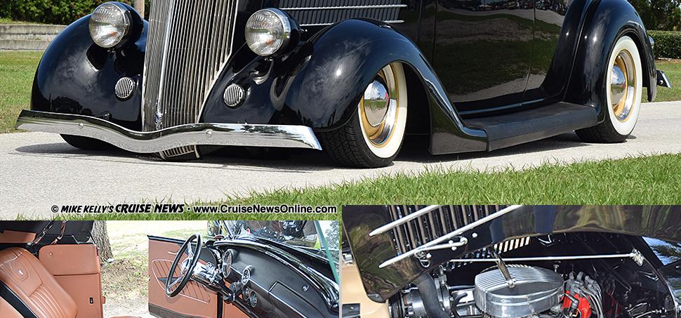 Mike  Kathy Sydney\u0027s 1936 Ford Roadster