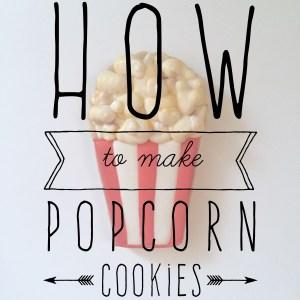 Popcorn Sugar Cookies