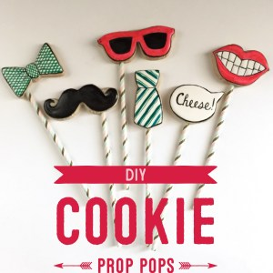 DIY Cookie Photo Prop Pops