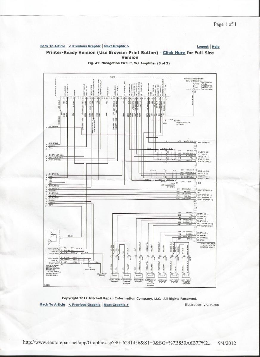radio wire diagram 2013 silverado