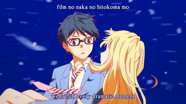 Sad Quotes Written Wallpaper Fansub Review Kaylith Shigatsu Wa Kimi No Uso Episode 03