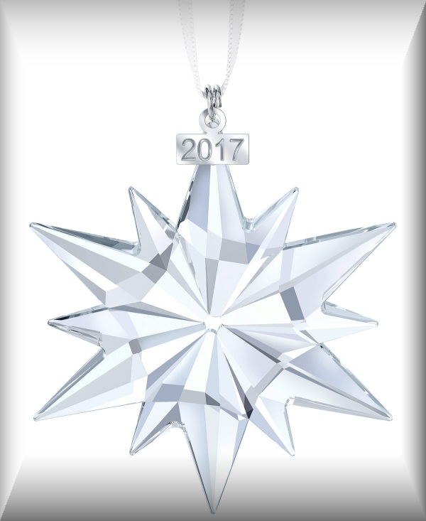 2017 Swarovski Annual Ornaments - Crystal-Fox Gallery