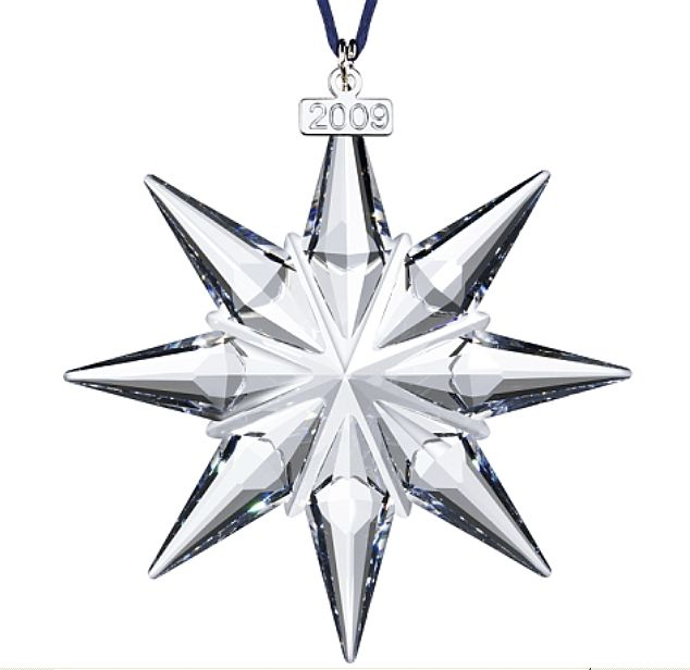 Ornaments - Retired dated SW Annual Edition Stars and Snowflakes