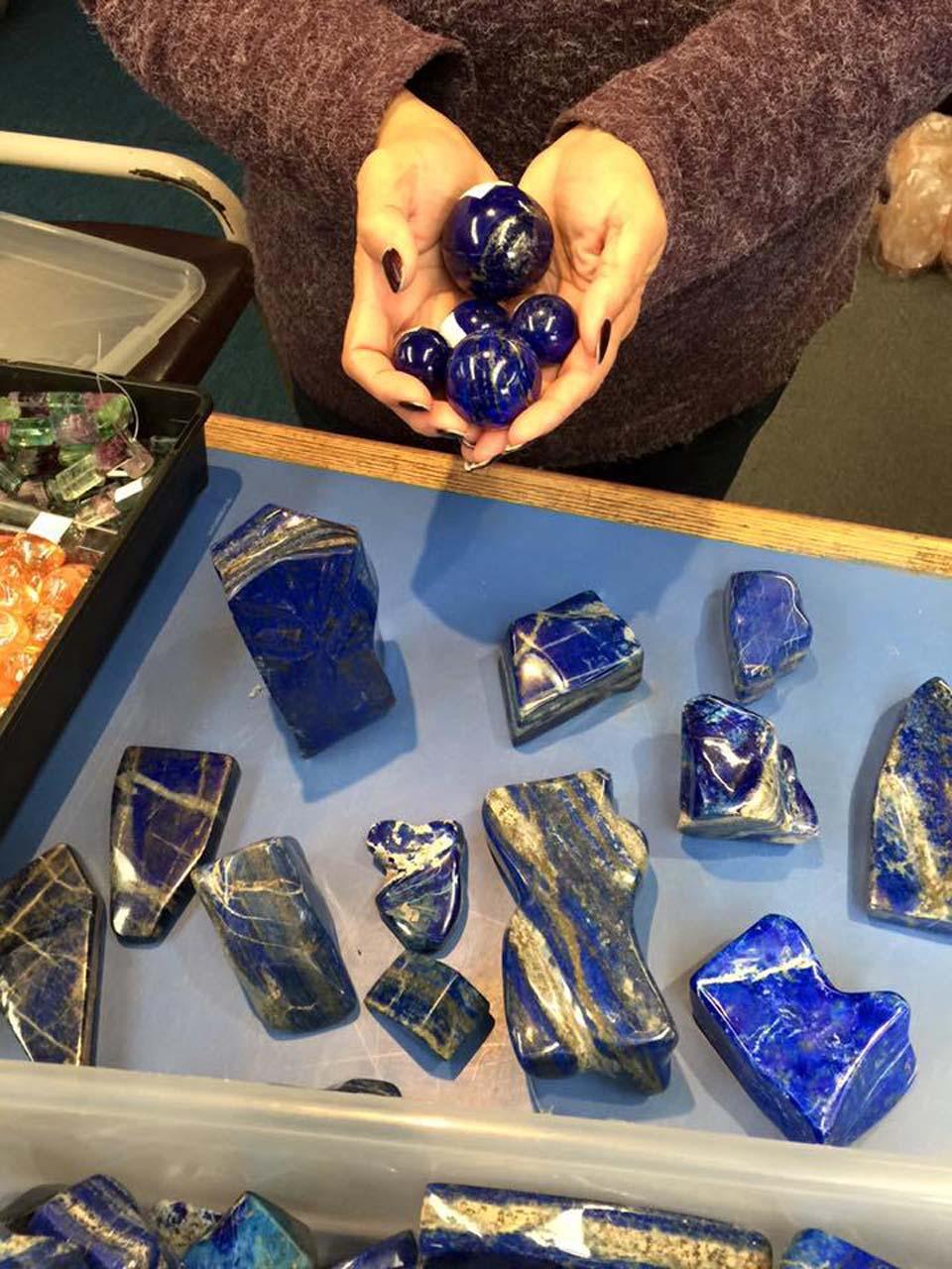 lapis lazuli spheres, crystals, meteorites, fossils, lapidary, gems, minerals