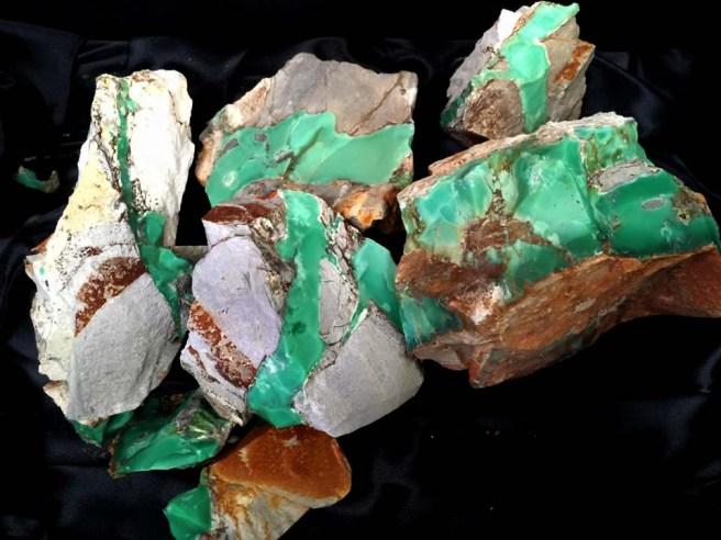 Minerals Australia, Variscite Mt Deverell Milgun Western Australia mined by Thomas Kapitany