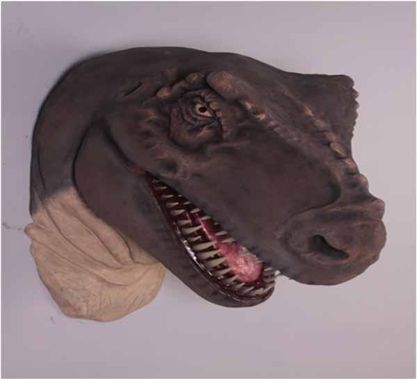 t rex head