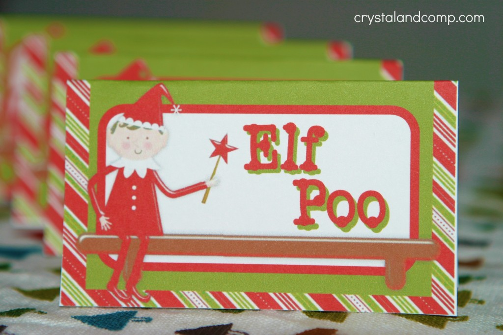 Elf on the Shelf Printables Elf Poo