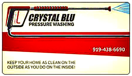 Pressure Washing Services; Triangle area; Your Local Triangle Pressure Washer, Crystal Blu Pressure Wash | Raleigh, NC Pressure Washing Service