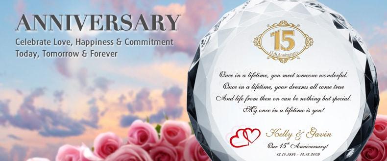 15 Yr Wedding Anniversary Gift Ideas Eskayalitim