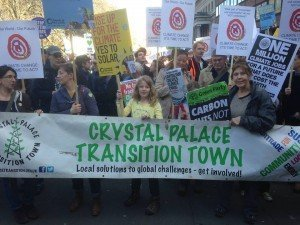 Crystal Palace Transition Town: Join us on the climate march