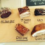 The Charcuterie Board: Cured meats
