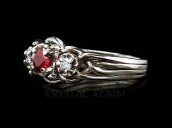 Small Of Lab Created Diamond Rings