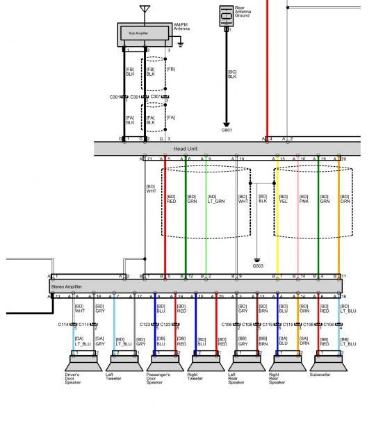 Audio Wiring Diagrams - Data Wiring Diagram Update