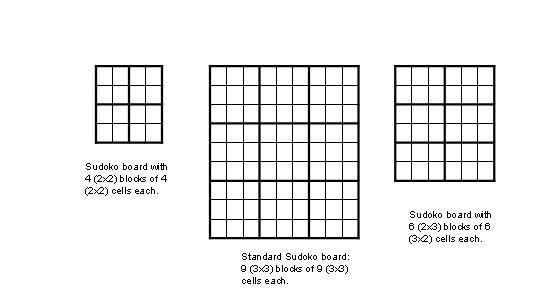 Game grid printable sudoku Trials Ireland
