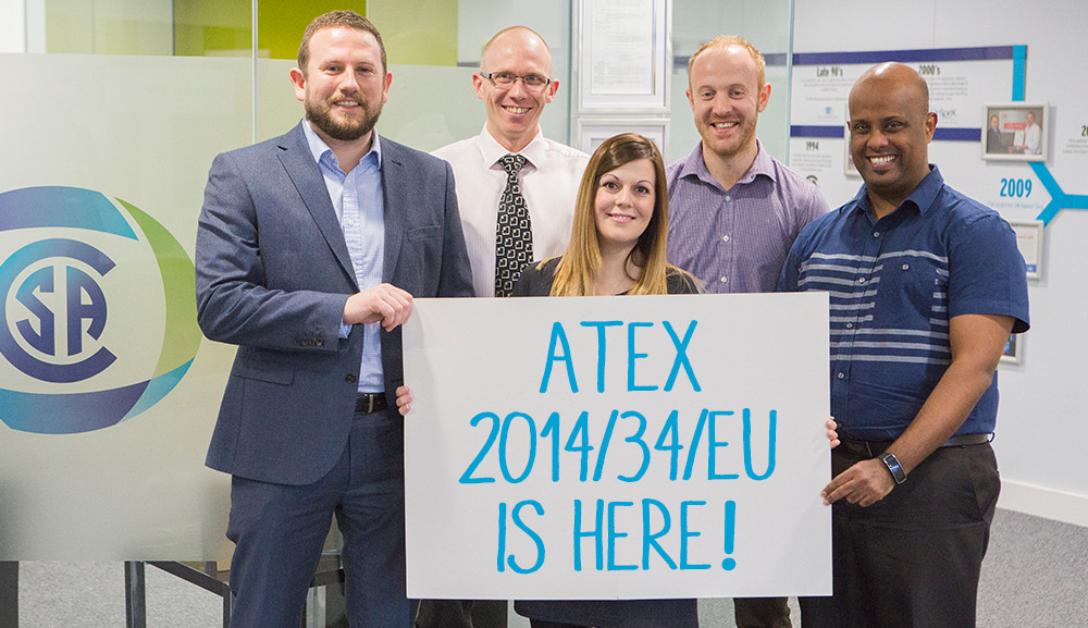 CSA Group welcomes the new ATEX Directive 2014/34/EU