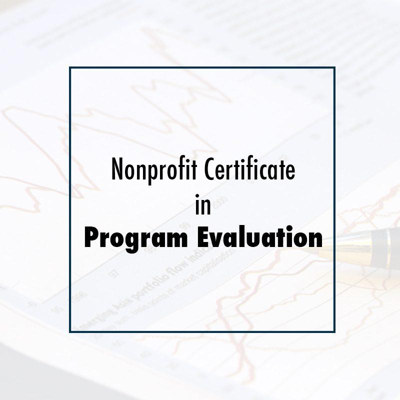 Nonprofit Certificate in Program Evaluation - CSEA Institute