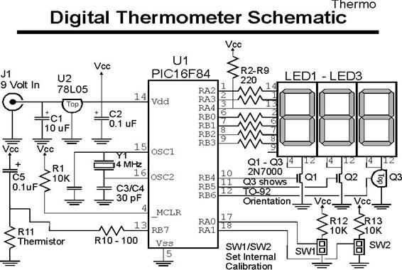 led circuit schematic