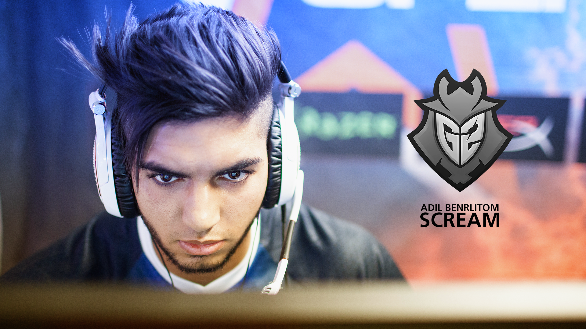 Csgo Wallpaper Hd Scream Blue Cs Go Wallpapers And Backgrounds