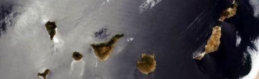 canarias vista satelite